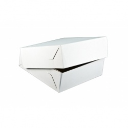 Krabica na tortu vlnitá lepenka 32x32x10cm (50ks)