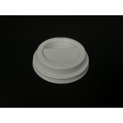 Viečko 73 plast biele (100ks)