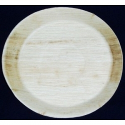 BIO Tanier palmový okrúhly 24cm (25ks)