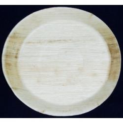 BIO Tanier palmový okrúhly 30cm (25ks)