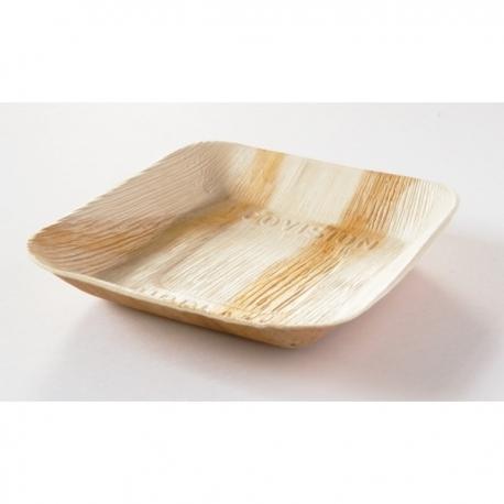 BIO tanier palmový hranatý 24x24 cm (25ks)