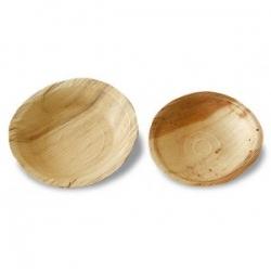 BIO tanier palmovy okrúhly 18cm (25ks)