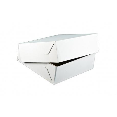 Krabica na tortu vlnitá lepenka 25x25x10cm (25ks)