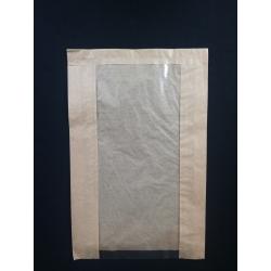 Papierové vrecko s okienkom chlieb (100/1000ks)