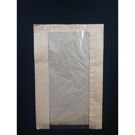 Papierové vrecko s okienkom chlieb (100ks)