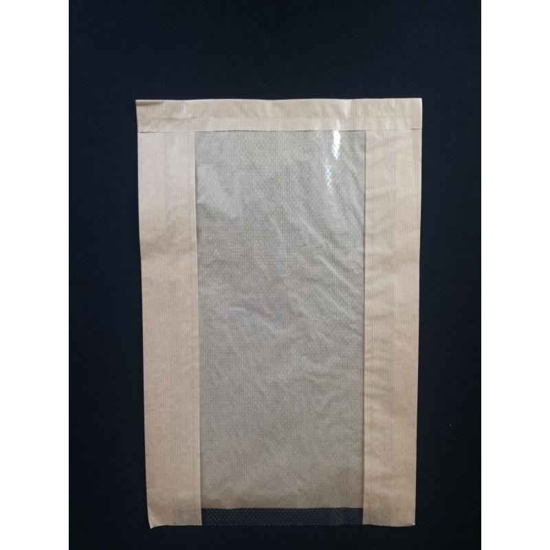 3facda9f8 Papierové vrecko s okienkom chlieb (100ks). Loading zoom