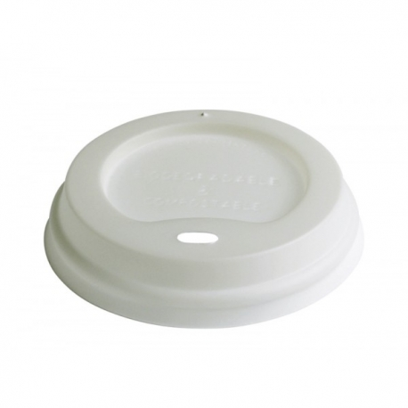 BIO Viečko biele CPLA na 200ml pohár  (50ks)