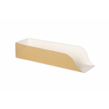 BIO krabička papierová na hot-dog 250x70x50 (50ks)