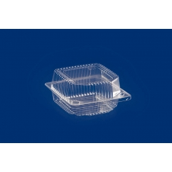 Krabička na zákusky K20 108x108x30+31mm (25/500Ks)