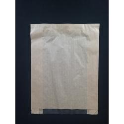 Papierové vrecko s okienkom pečivo (100/1000ks)