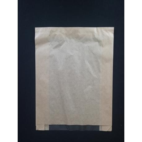 Papierové vrecko s okienkom pečivo (100ks)