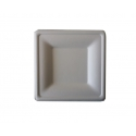 BIO Tanier 20x20 štvorcový biely (50/500ks)
