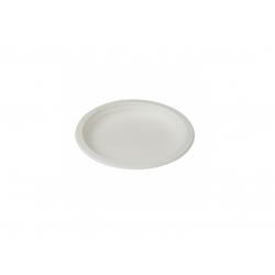 BIO Tanier 18cm okrúhly biely (50ks) E