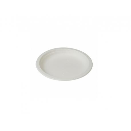 BIO Tanier plytký 18cm biely (50/1000ks)