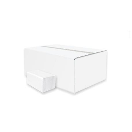 Servítky dvojvrstvové 22x16cm biele (200ks)