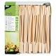 BIO bambusové paličky, špajdle 18 cm (250ks)