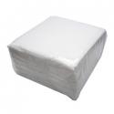 Servítky jednovrstvové 17x17cm biele (2000ks)