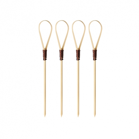 BIO bambusové paličky, napichovadlo 10 cm fingerfood slucka (100ks)