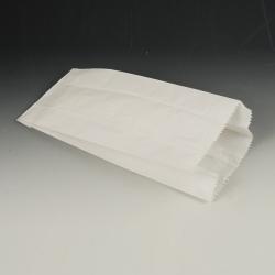 Papierové vrecko 24x11x6cm biele (100/1000ks)