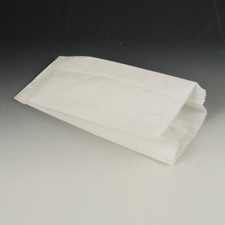 Papierové vrecko 11x6x24cm biele (100/1000ks)
