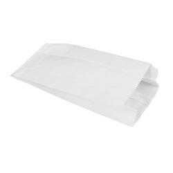 Papierové vrecko 15x7x35cm biele (100/1000ks)