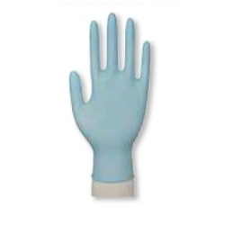 Rukavice nitril modré M nepúdrované (100/1000ks)
