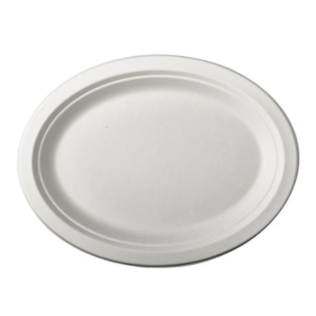 BIO Tácka/tanier oválny 26x19 biely