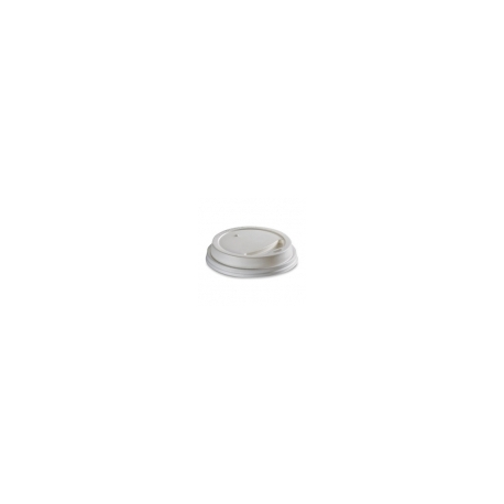 Viečko 62 plast biele (100/1000ks)