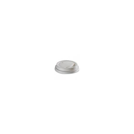 Viečko 70 plast biele (100/1000ks)