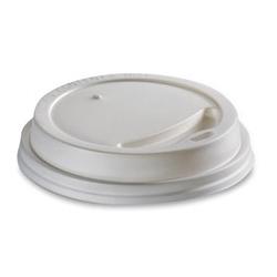 Viečko 80 plast biele (100/1000ks)