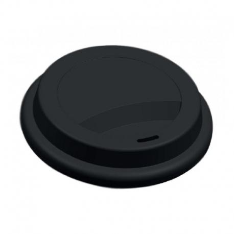 Viečko pr.80mm plast čierne (100ks)