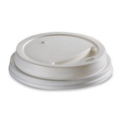 Viečko 90mm plast biele (100ks)