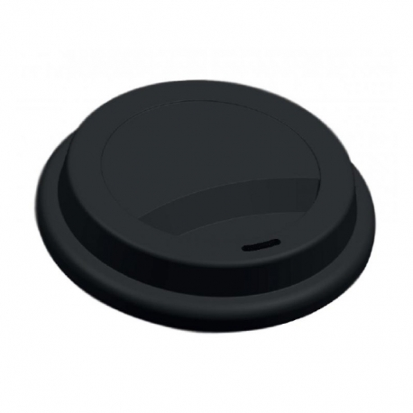 Viečko pr.90mm plast čierne (100ks)