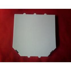 Krabica na pizzu 32x32x3,5cm biela (100ks)