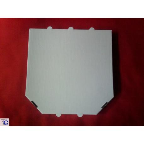 Krabica na pizzu biela 320x320x35 mm 100ks