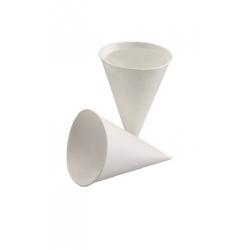 Pohár papier biely kornút 115ml (200/5000ks)