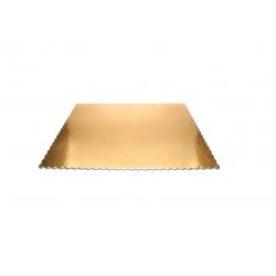 Podnos pod koláče 46x36 cm zlatý (1/25ks)