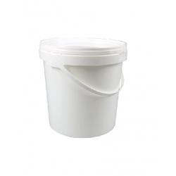 Vedro s viečkom 3L biele (1/120ks)