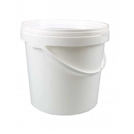 Vedro s viečkom 5L biele (1/100ks)