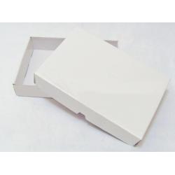 Prepravka, krabica biela 58x38x9cm (25+25ks)