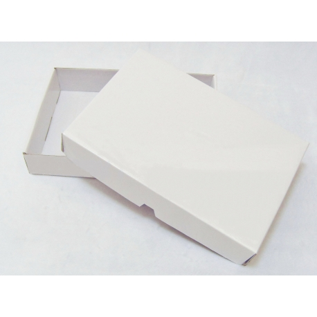 Krabica biela na koláče a zákusky  58x38x9cm (25+25ks)