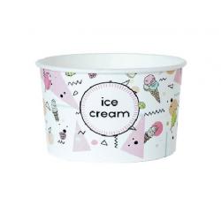 Miska na zmrzlinu 245ml ice cream (25/600ks)