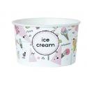 Miska na zmrzlinu 360ml ice cream (25/500ks)