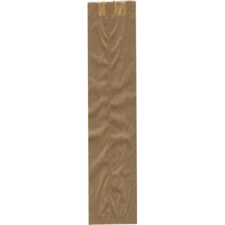 Papierové vrecko bageta 100x50x500 kraft (100ks)