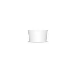 Miska na zmrzlinu 130 biela (25/1000ks)