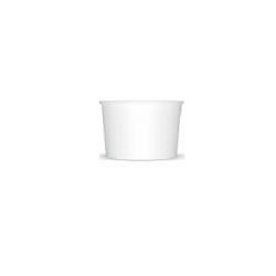 Miska na zmrzlinu 245 biela (25/600ks)
