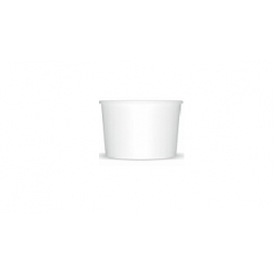 MiMiska na zmrzlinu 245 biela (25/600ks)