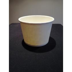 Miska 500 papierová biela (50/500ks)