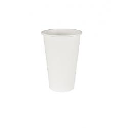 BIO pohár papier biely 200ml  (50/1000ks)
