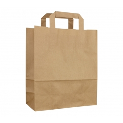 Papierová taška 32x12x40cm Kraft (25/250ks)